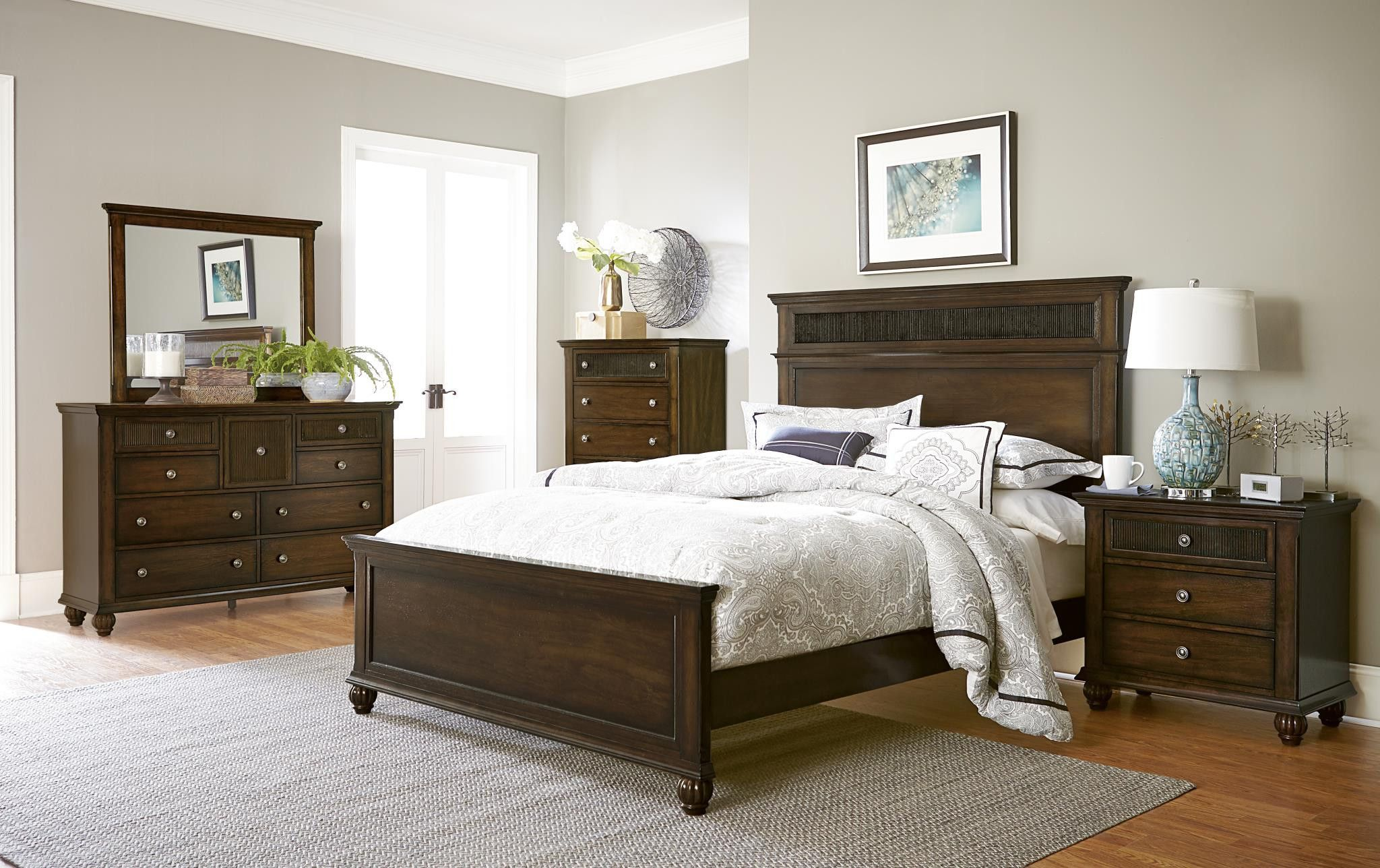 Best Cotswold Grove Queen Bedroom Set Progressive Furniture 400 x 300