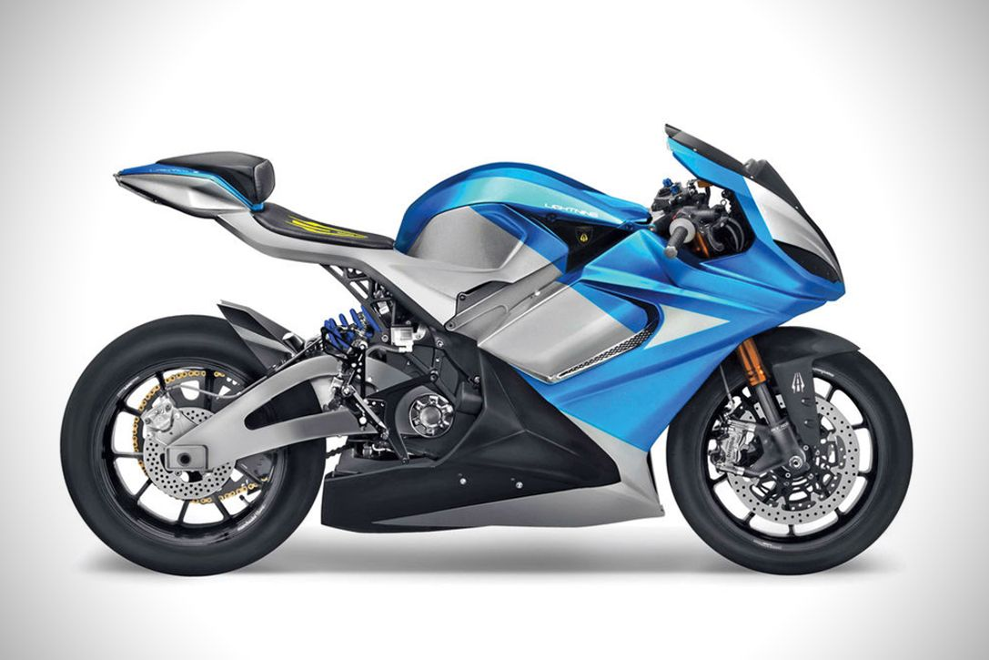 Lightning LS-218 All-Electric Superbike | HiConsumption