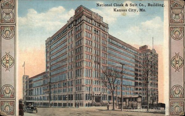 National Cloak Suit Co Building Kansas City Downtown Kansas
