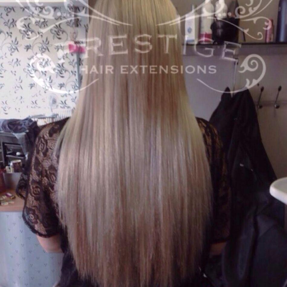 120g (2 x 60g) 20 inch double drawn Prestige Hair