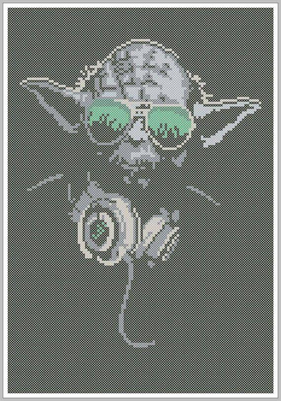 Baby Yoda Perler Beads Schule