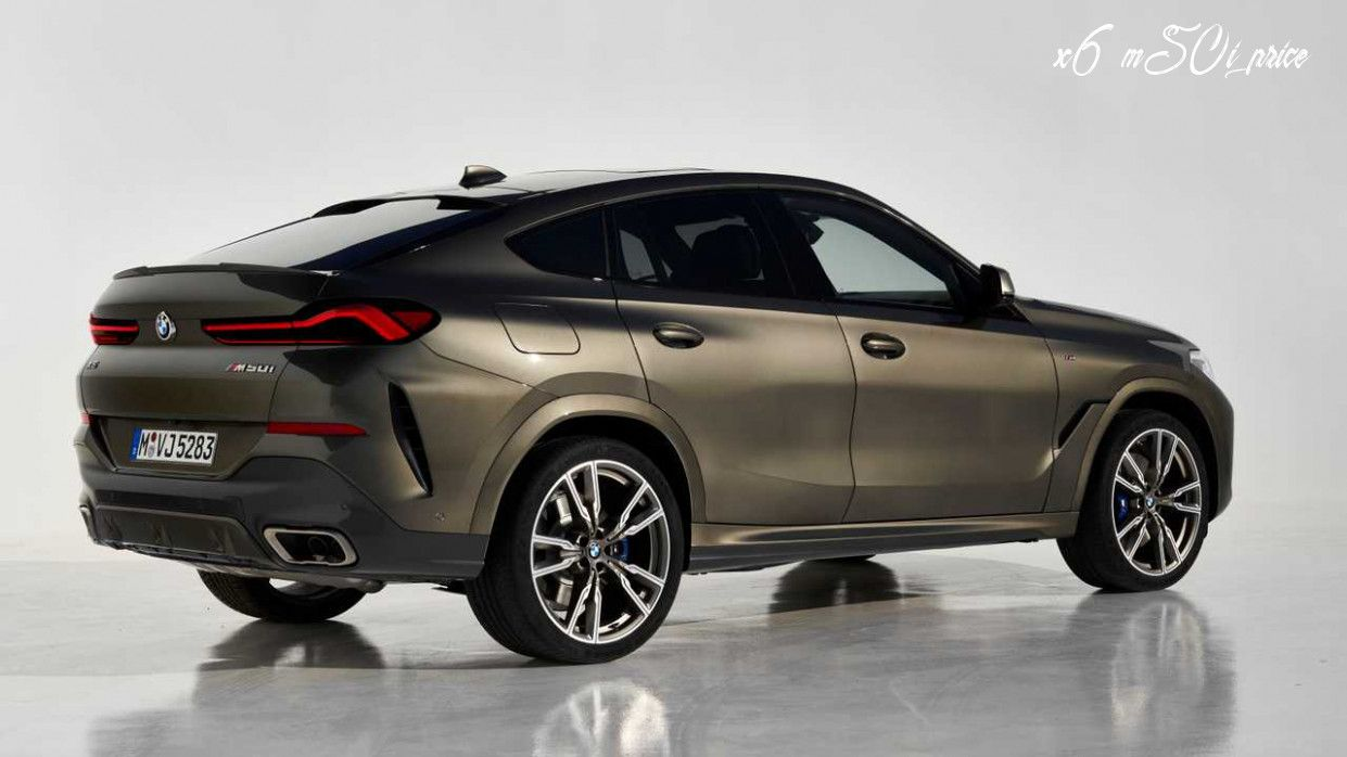 X6 M50i Price Release Date And Concept In 2020 Bmw X6 New Bmw Latest Cars