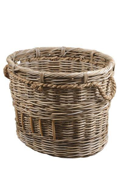Large Oval Basket Basket Wicker Laundry Basket Wicker Baskets