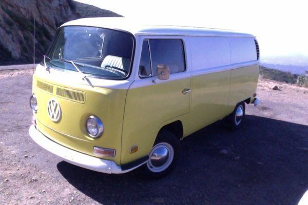 1970 VW Panel Van - $ 10500 (Santa barbara, ca.) | Car ...