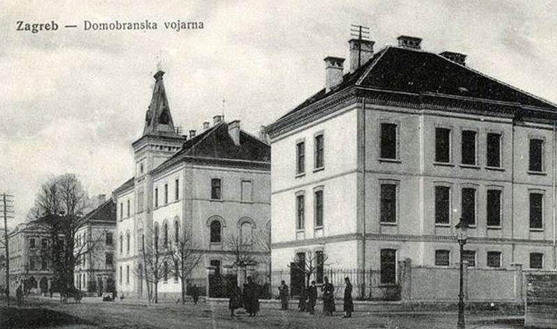 Rudolfova Vojarna Zagreb Old Photos Olds