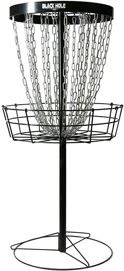 Amazon Com Mvp Black Hole Pro 24 Chain Portable Disc Golf Basket Target Sports Outdoors Disc Golf Basket Portable Disc Golf Basket Disc Golf