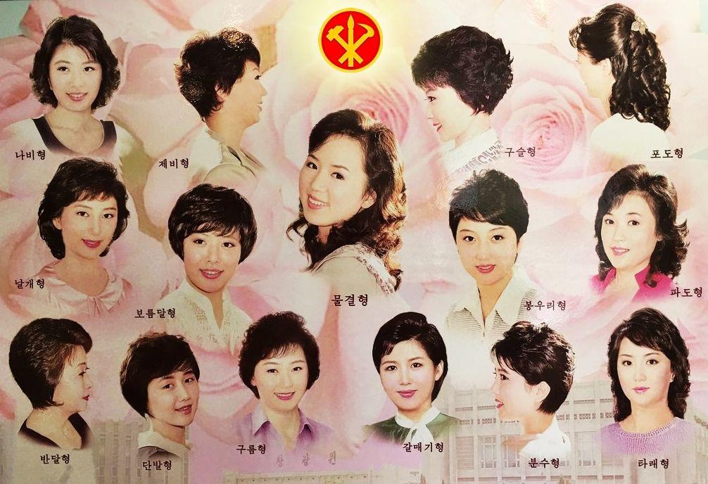 Frisuren Nordkorea