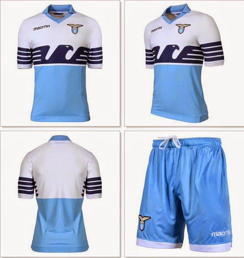 c66779ea60b79 Nuevas camisetas de futbol 2014 2015 2016  Será esta la Nuevas camisetas  del Lazio para la temporada 2015 - 2016