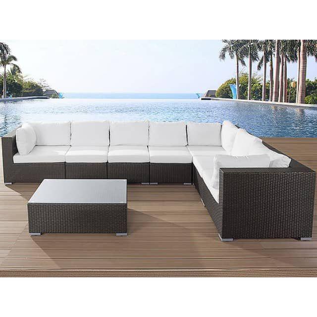 Rattan Lounge - Rattanmöbel 26 Teile - Gartenmöbel polyrattan - rattan lounge gartenmobel
