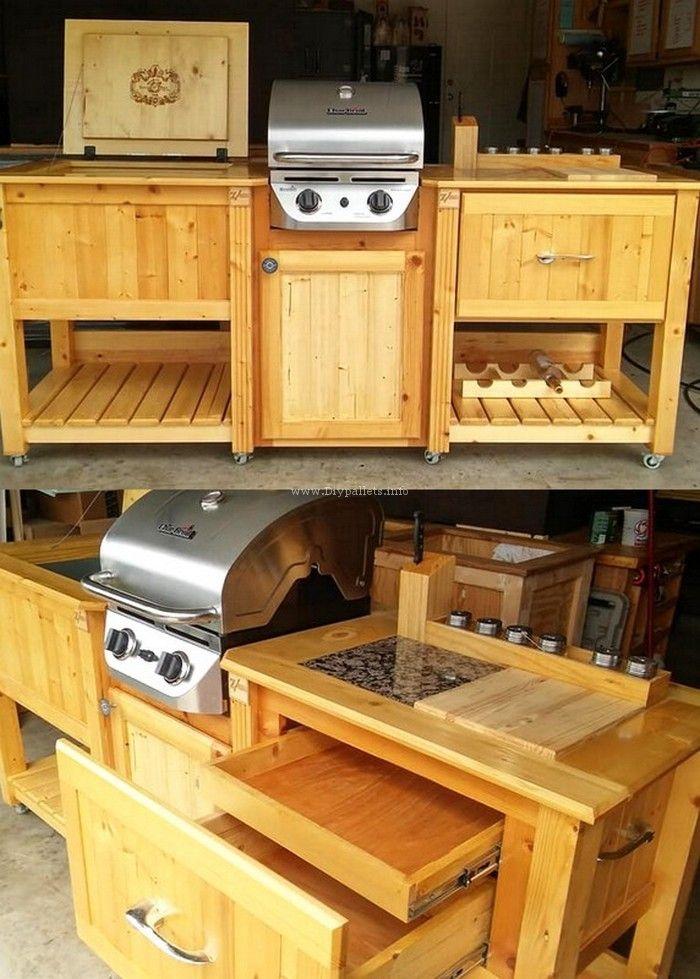 Beautiful Pallet Kitchen Ideas Diy Pallet Furniture