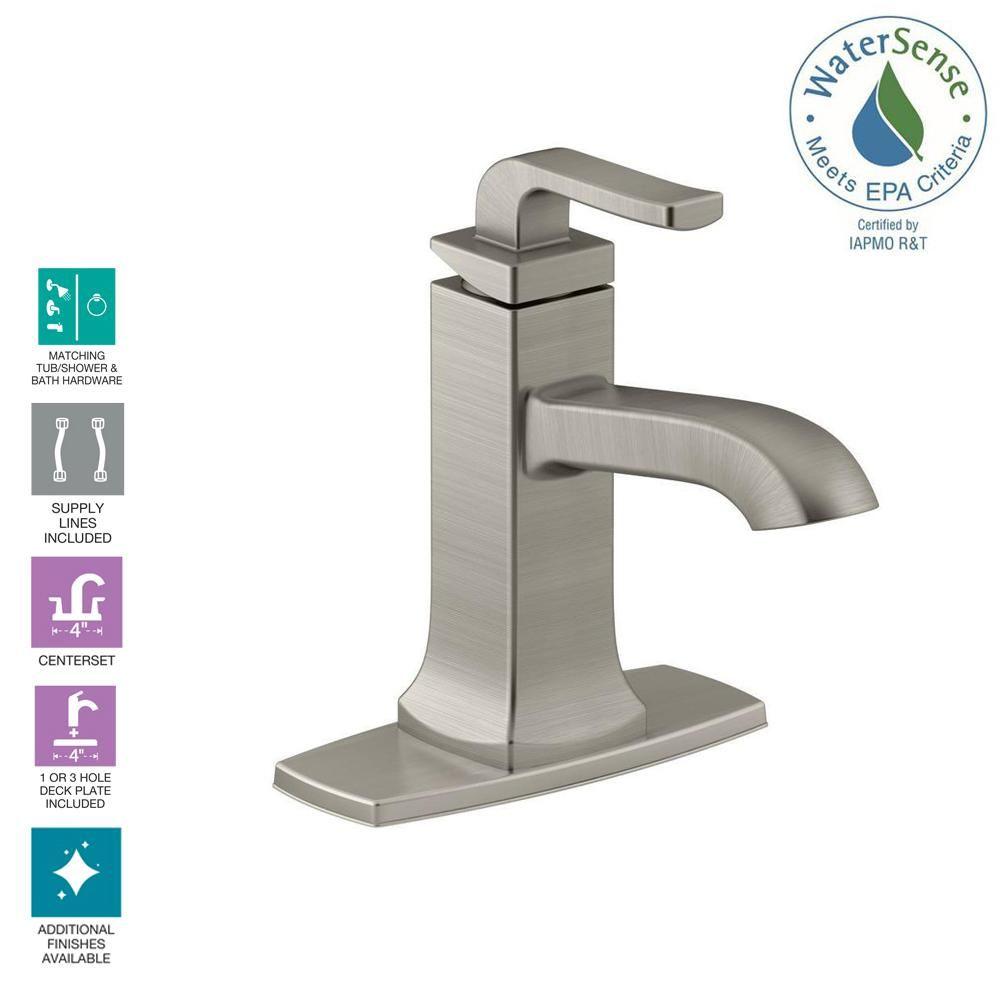 Kohler Rubicon Single Hole Single Handle Bathroom Faucet In