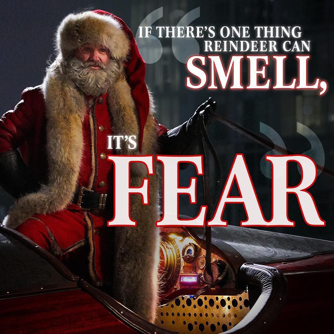 Fear smells like coal, just so you know. Christmas memes