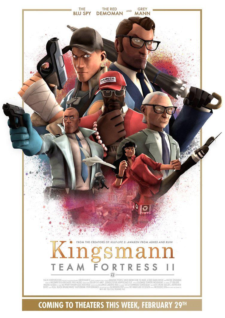 Kingsmann: Team Fortress II by uberchain on DeviantArt