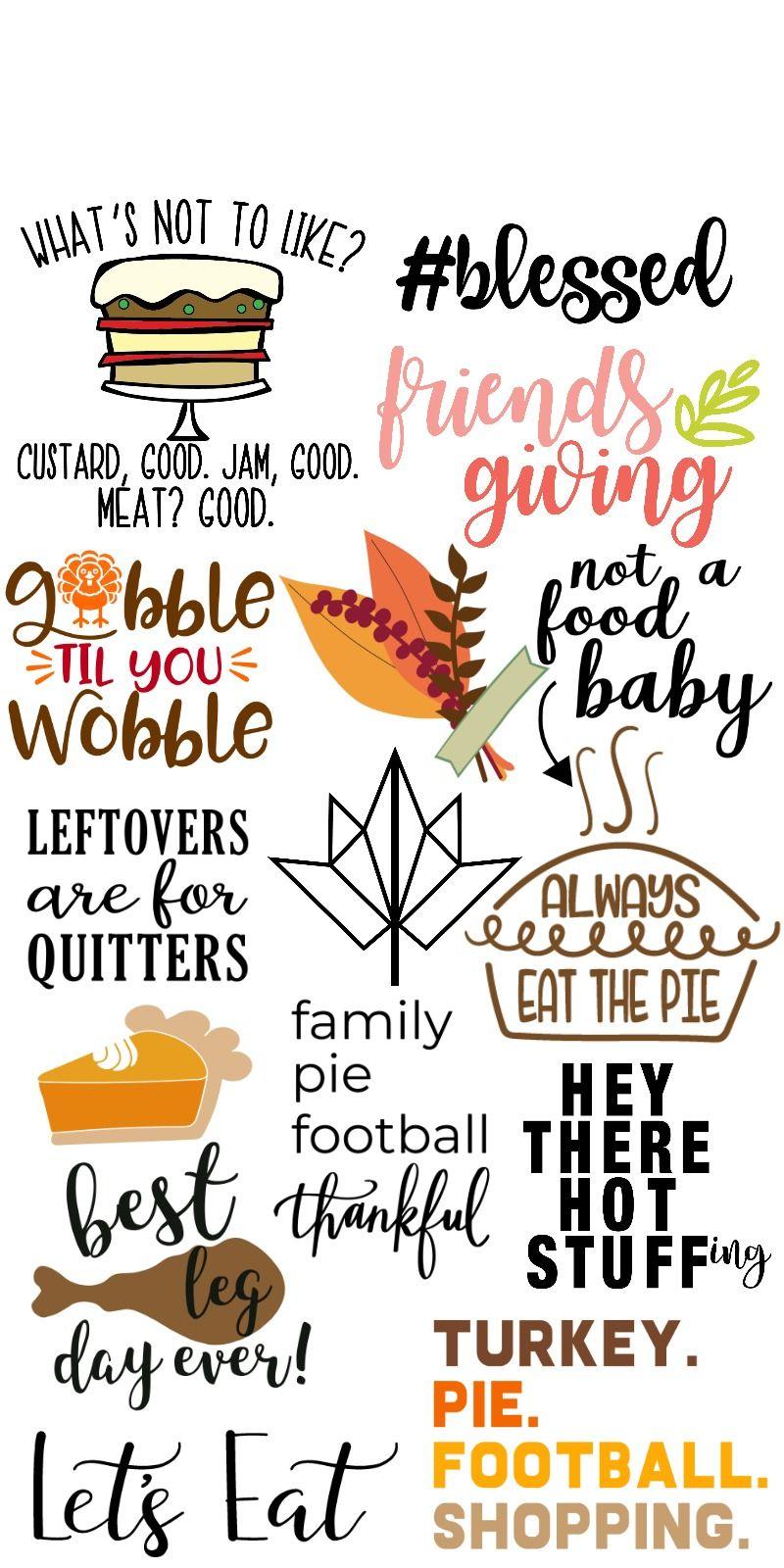 Let's Eat Thanksgiving SVG Thanksgiving decorations diy