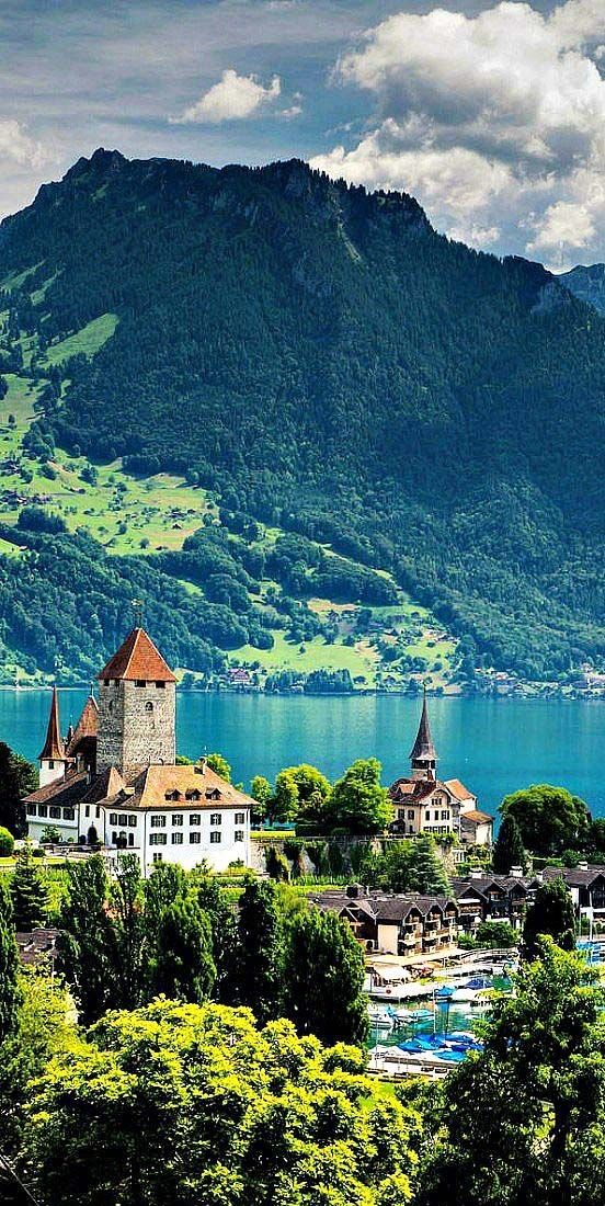Lake Thun Switzerland Modren Villa Cool Places To Visit Places To Visit Places To Go