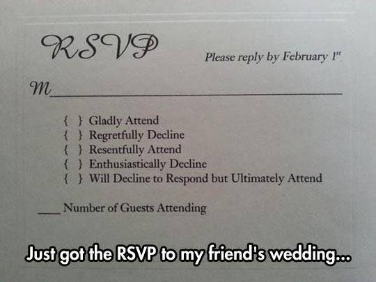 Hilarious Rsvp Wedding Vows That Make You Cry Wedding Humor