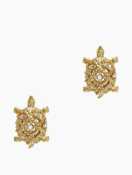 love these little #gold turtle earrings http://rstyle.me/n/j2jp9r9te