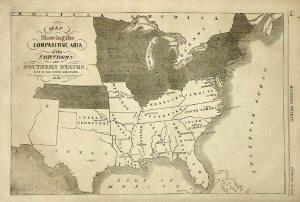 Original 1861 Map of the Confederate States | The Confederacy ...