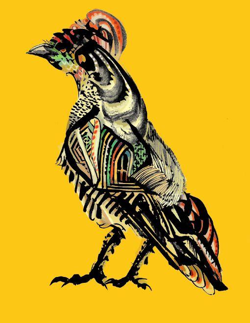 Bird illustration_  http://www.pixiv.net/member_illust.php?mode=medium&illust_id=13748884