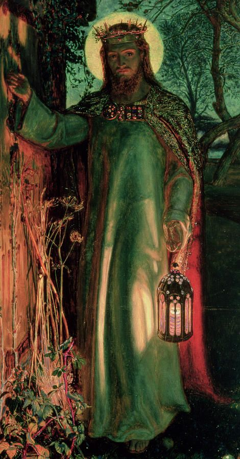 Quot The Light Of The World Quot By William Holman Hunt Jesus