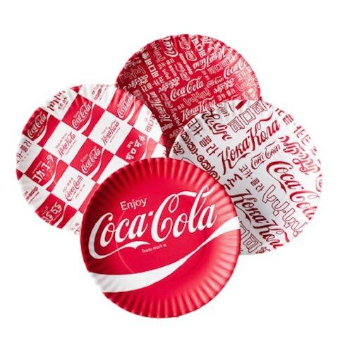 Coca-cola \ Around the World\  Picnic / Dinner Plate 9 Inch Melamine  sc 1 st  Pinterest & Coca-cola \