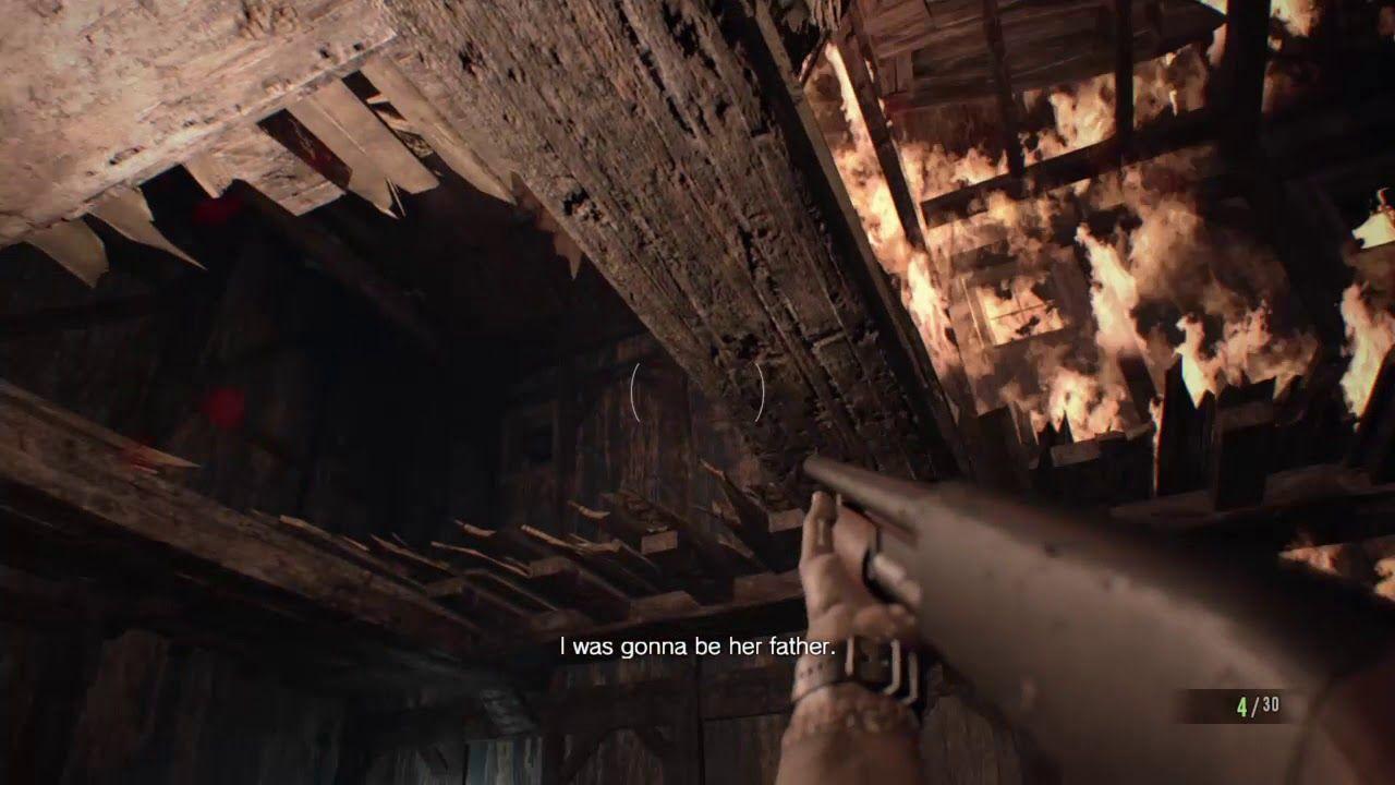Resident Evil 7 Biohazard Deformed Jack Intense Boss Fight