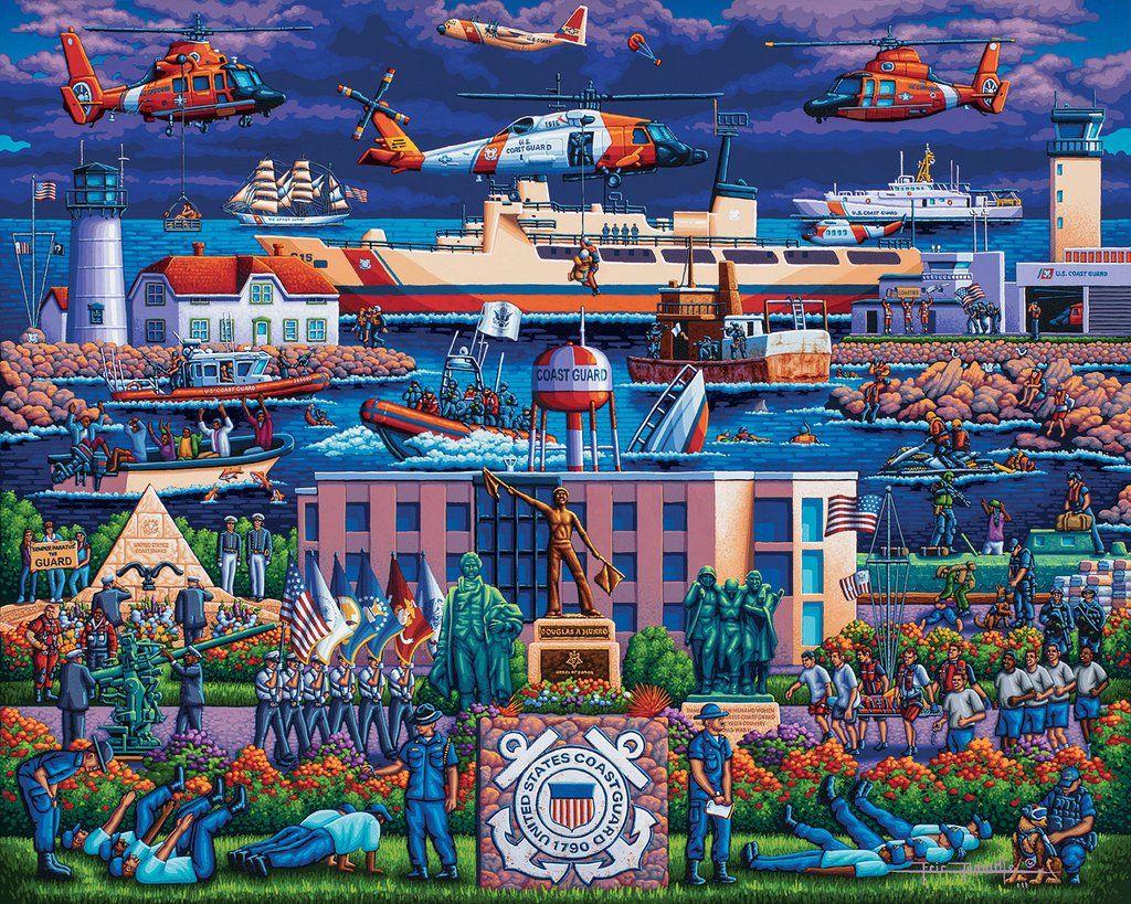U.S. Coast Guard Fine Art in 2020 Fine art, Puzzle art