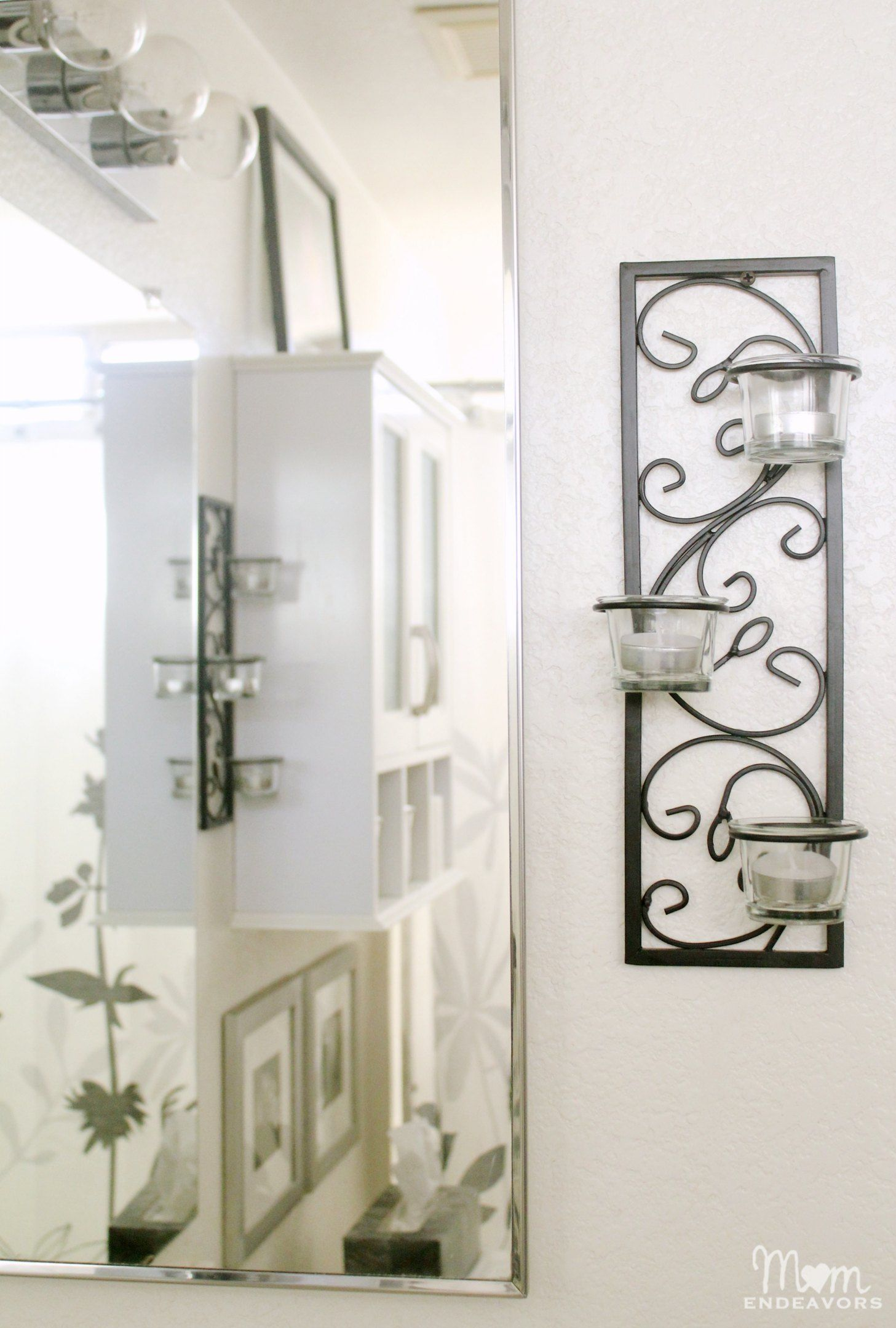 Candle Wall Sconces Can Work In The Bathroom To Add Some Wall Gorgeous Small Wall Sconces For Bathroom Decorating Inspiration