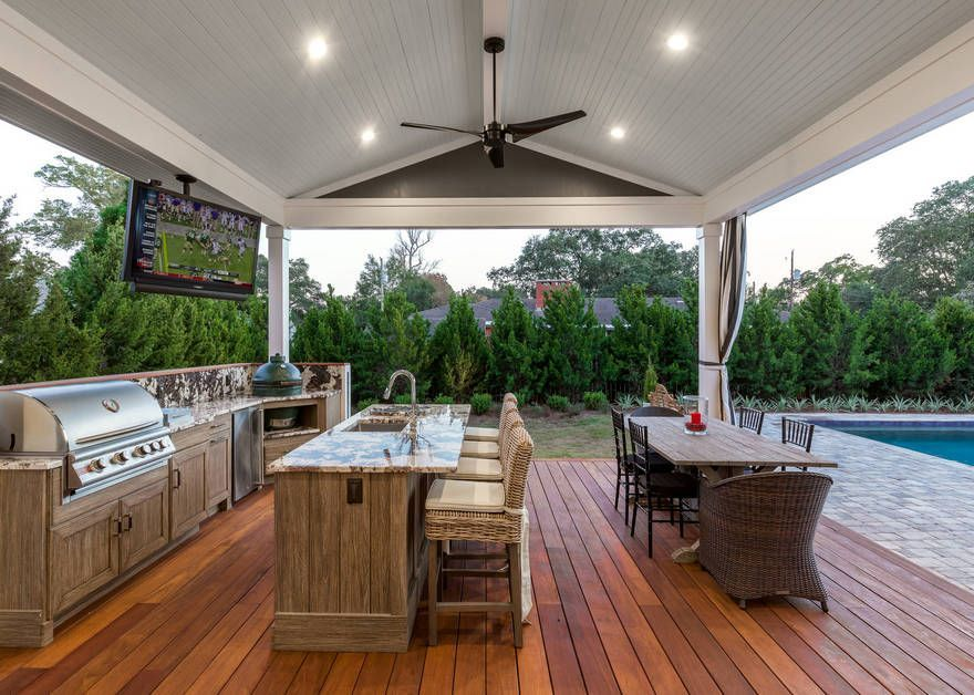 Paradise Outdoor Kitchens For Entertaining Guests With Images Outdoor Kitchen Decor Outdoor Kitchen Design Outdoor Kitchen Design Layout