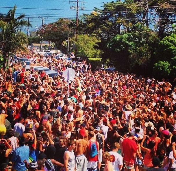 Frat Party Santa Barbara