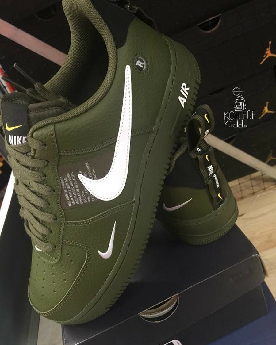 promo code f30cd 61bd7 Dark green air force 1