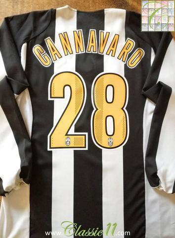 best cheap cccde 46a7d Official Nike Juventus home long sleeve football shirt from ...