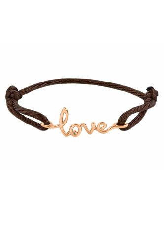 Avanessi One Love Bracelet Chocolate Rose Gold 250