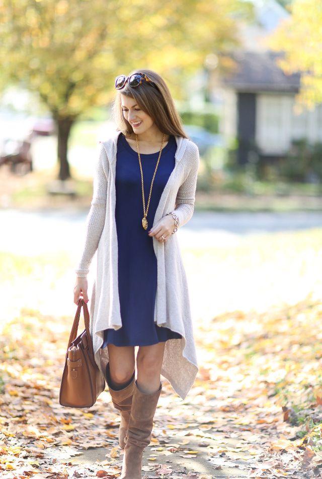 bf988636ec0 maxi cardigan over dress (via Southern Curls   Pearls)