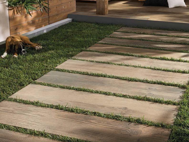 Piastrelle Effetto Legno Per Esterni : Pavimento per esterni in gres porcellanato effetto legno cross