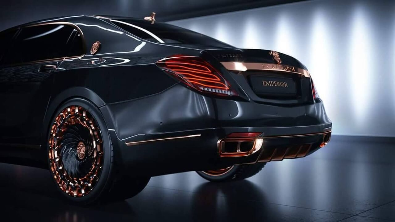 Scaldare emperor and a mercedes maybach s600 http autoblogsss ru