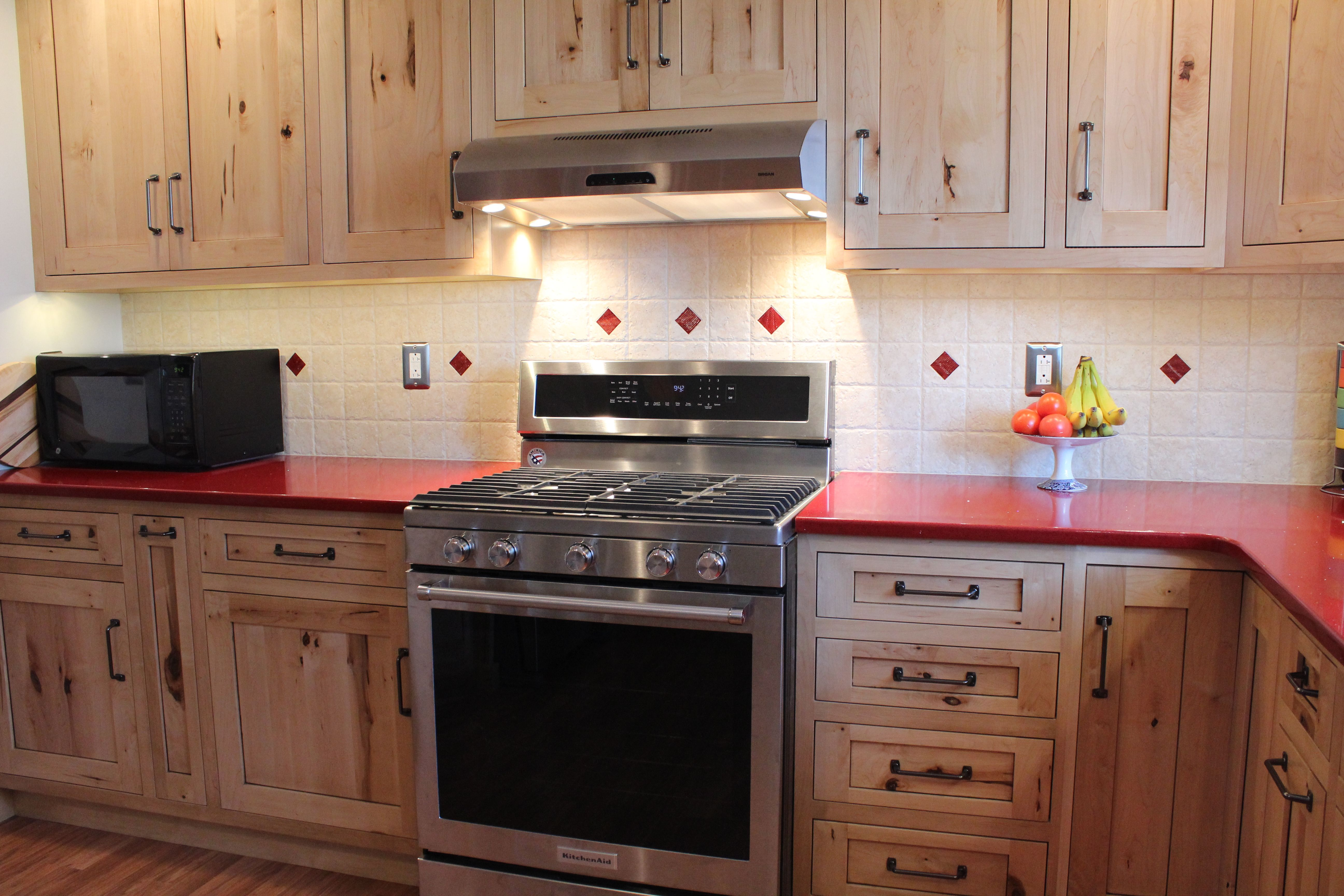 Custom cabinets by Creation Cabinetry crafted out of ...