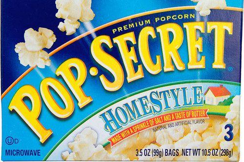 Best Microwavable Popcorn Pop Secret