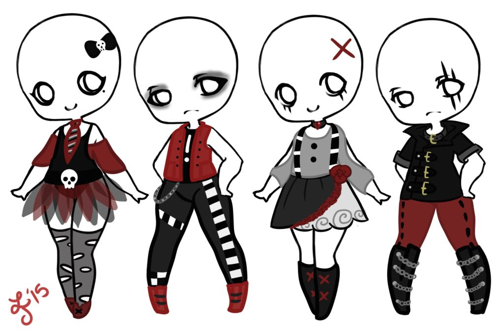 Just Creepypasta Clothes Ideas Art Not By Me Emo Clothes For
