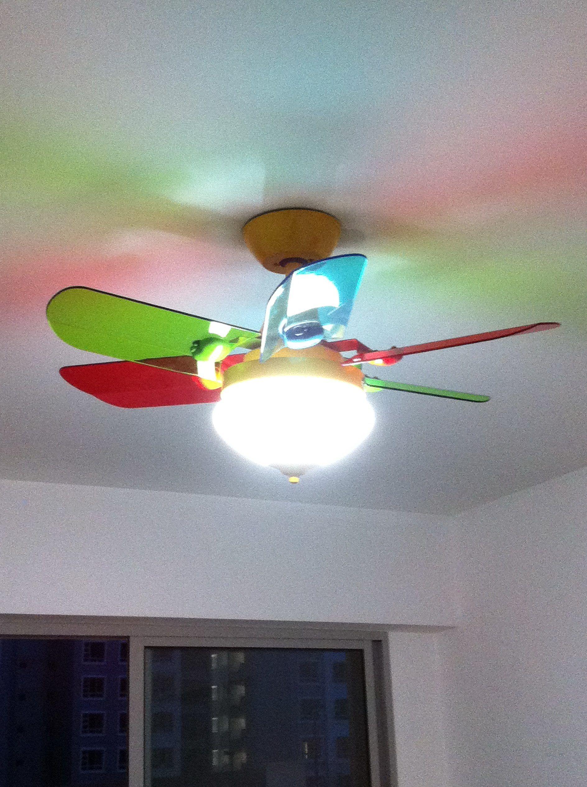 Kinder Decken Ventilatoren Mit Licht  Kindermobel.info