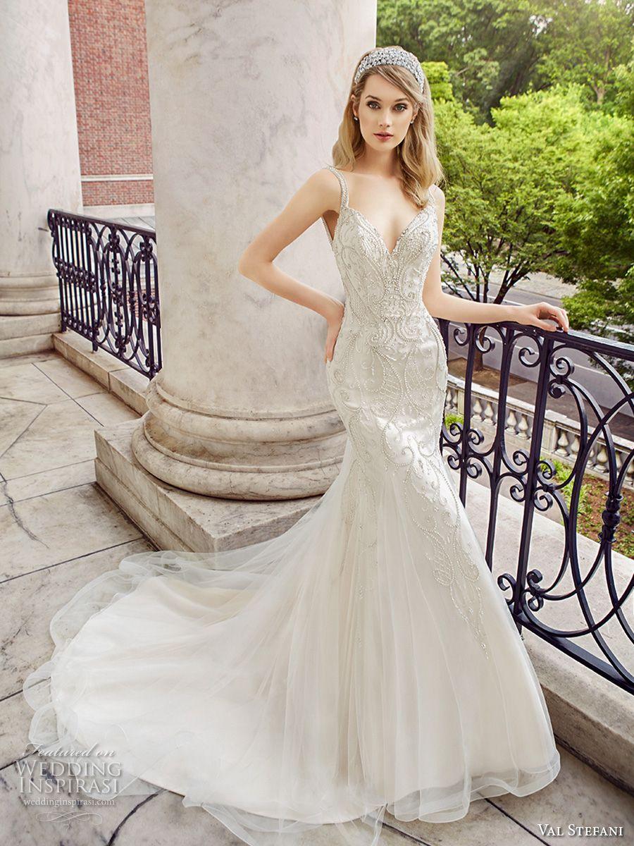 Val Stefani Spring 2017 Wedding Dresses Mermaid Wedding