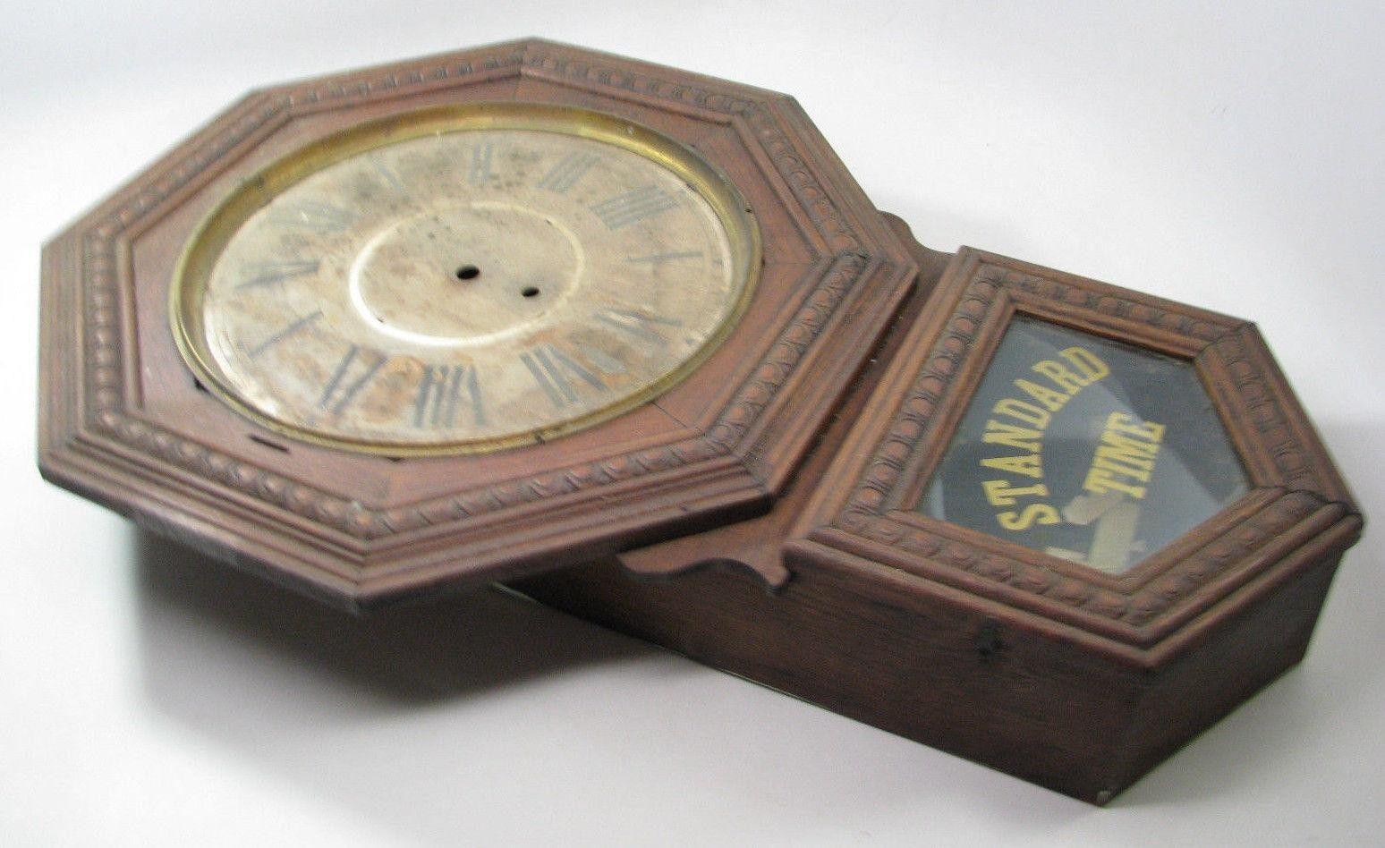 Antique 28 oak gilbert regulator wall clock case parts repair antique 28 oak gilbert regulator wall clock case parts repair 1788458380 amipublicfo Choice Image