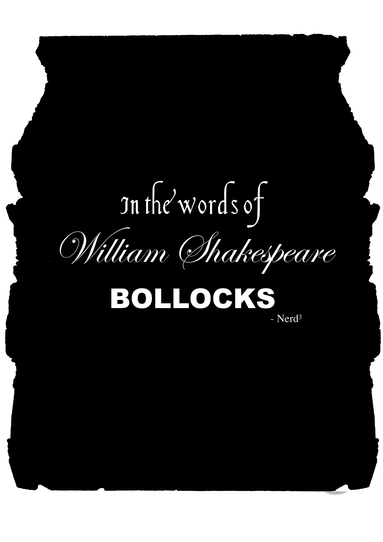 In The Words Of William Shakespeare Quote From Youtuber