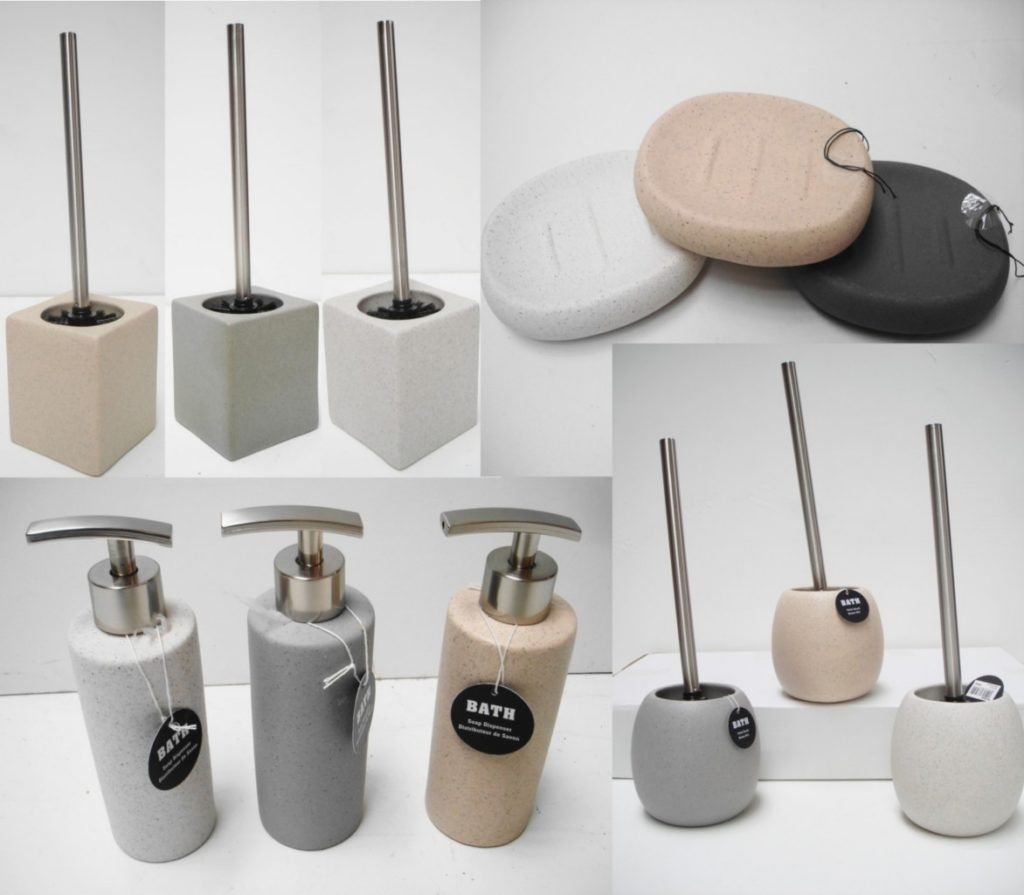 Stone Effect Bathroom Accessories | Bathroom Accessories | Pinterest ...