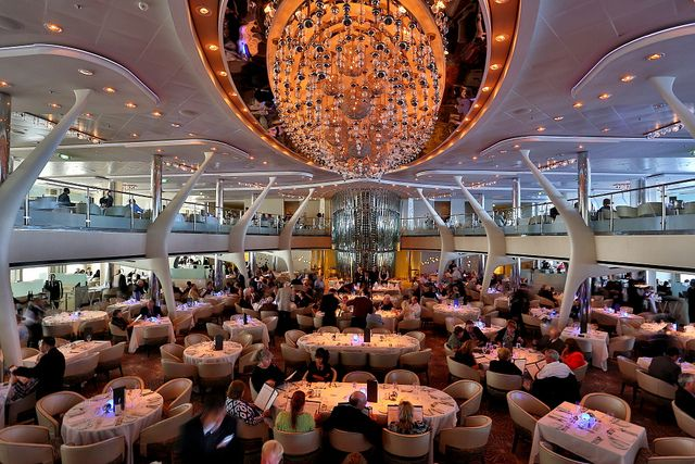 Main Dining Room Princess Cruise Lines Cruise Ship Celebrity Cruises