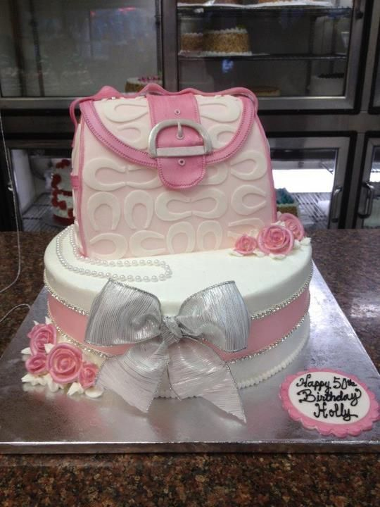 Coach Purse Shaped Cake Modern Pastry Shop Inc My