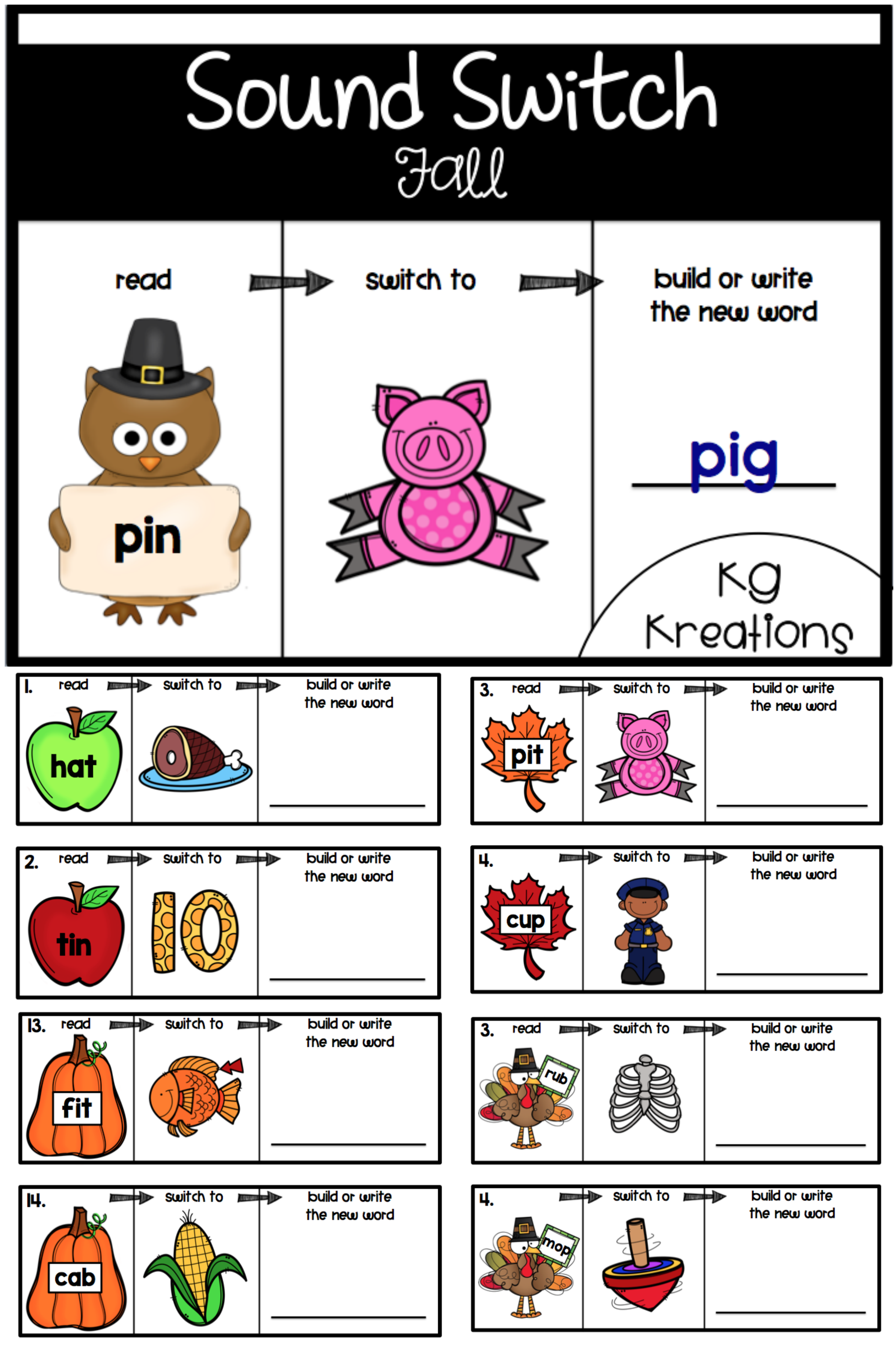 Phoneme Substitution Fall