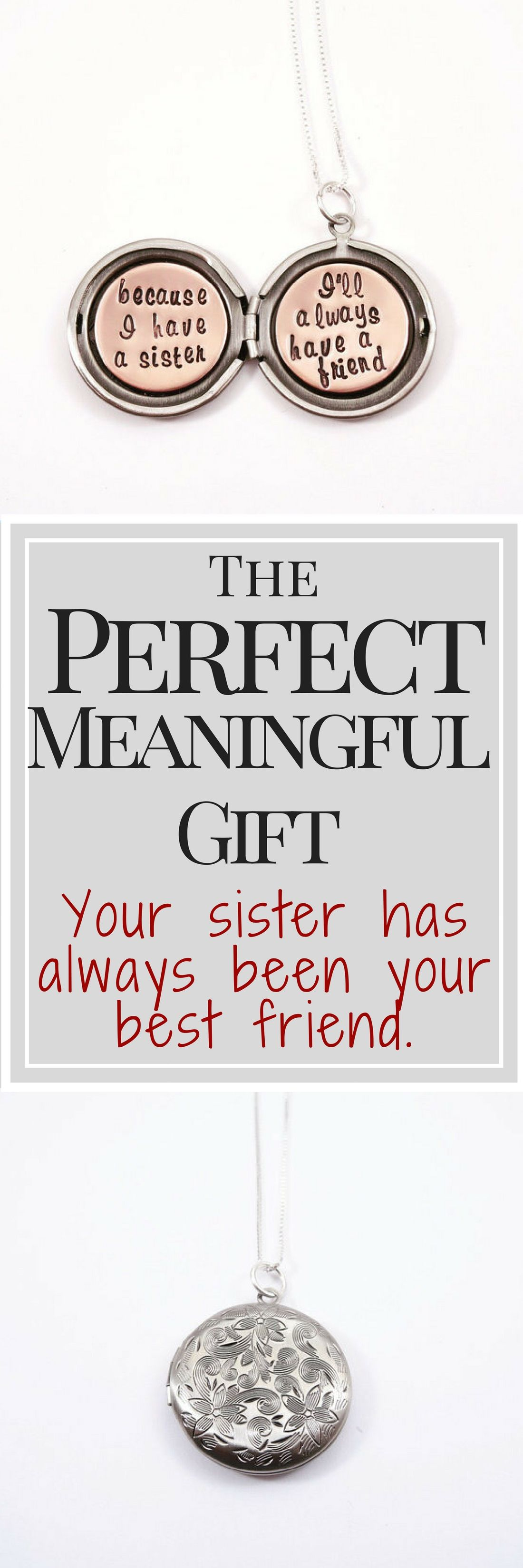 Your sister has always been your best friend celebrate your love