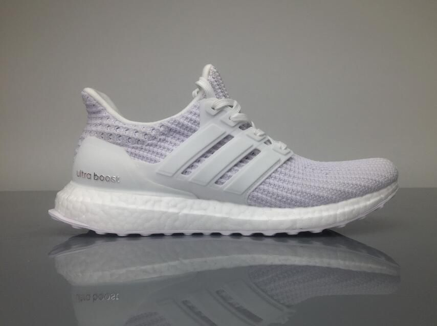 cddbfcab6 Adidas Ultra Boost 4.0 BB6168 White Grey Real Boost for Sale  36-45 ...