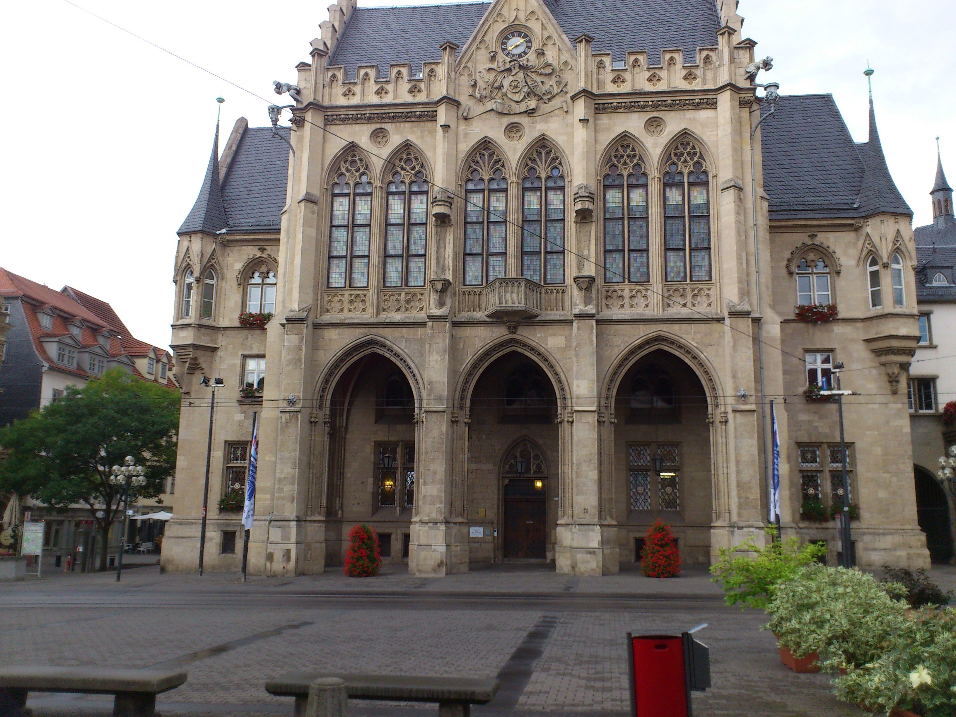 Erfurter Rathaus (mit Bildern) Erfurt, Burg, Rathaus